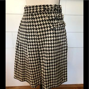 Kate Spade Houndstooth Skirt- Skirt that Rules Sz4